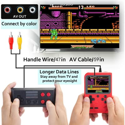 Kidwill Lightweight Game Console: