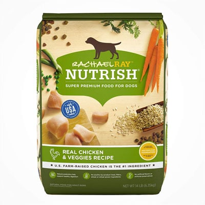 8. Rachael Ray Nutrish Dry Dog Food, Super Premium