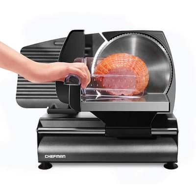 Chefman Black Food Slicer