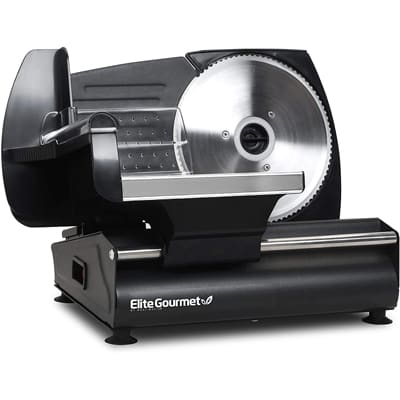 Elite Gourmet Precise Meat Slicer
