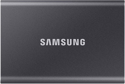 2. SAMSUNG MU-PC2T0T/AM T7 2TB Portable SSD