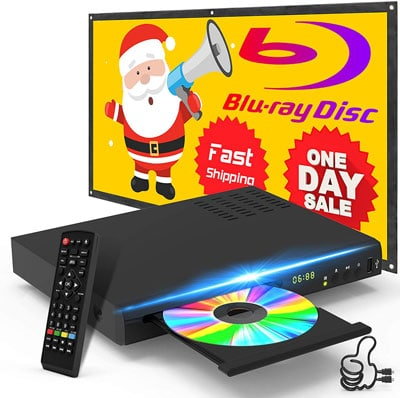 9. Tojock New Blu-Ray DVD Player
