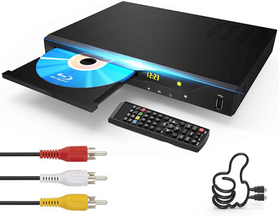 10. GEOYEAO 2021 Newest Blu-ray Disc DVD Player