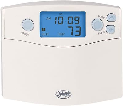 7. Hunter Set and Save 7-Day Programmable Thermostat (44360)