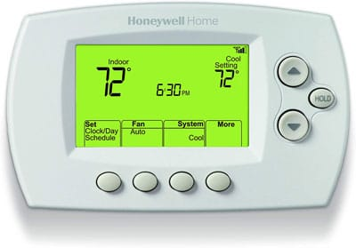 1. Honeywell RTH6580WF Wi-Fi 7-Day Programmable Thermostat