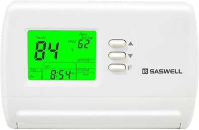 8. Saswell SAS900STK-2 Single Stage 5-2 Programmable Thermostat