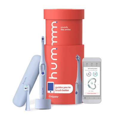 9. Colgate hum Blue Smart Electric Toothbrush Kit