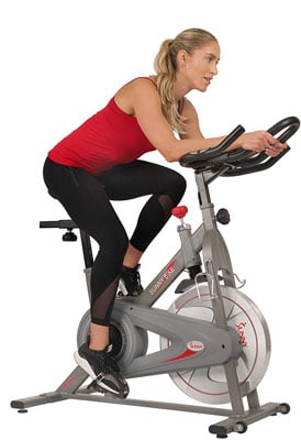 9. Sunny Health & Fitness Synergy Indoor Cycling Magnetic Bike